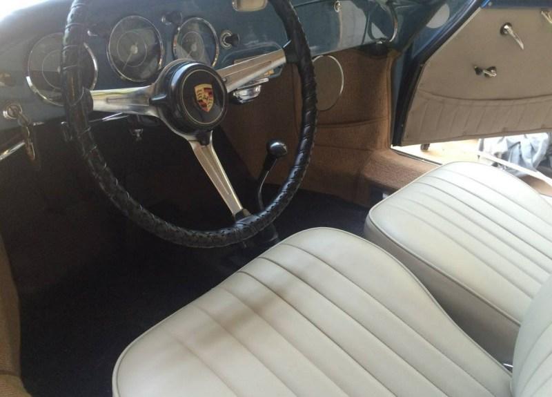 dirtyoldcars.com 1960 Porsche 356B 1600 S Reutter Cabriolet Found in Oklahoma 1
