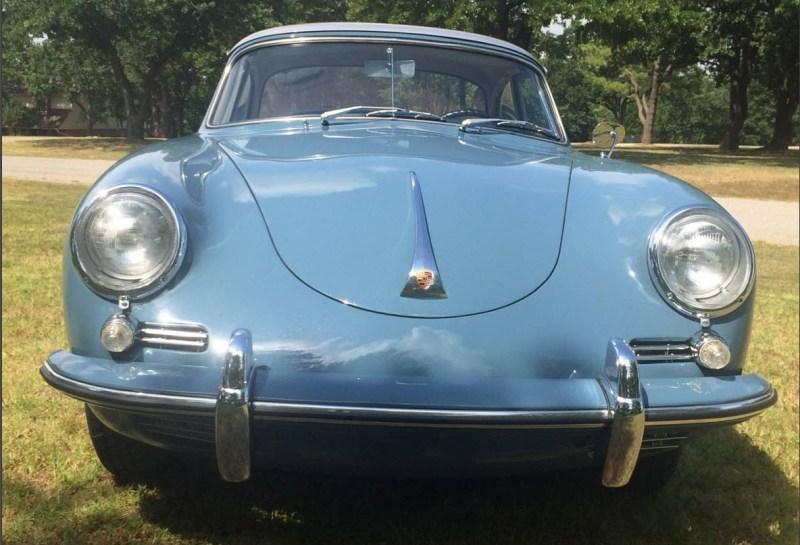 dirtyoldcars.com 1960 Porsche 356B 1600 S Reutter Cabriolet Found in Oklahoma 5