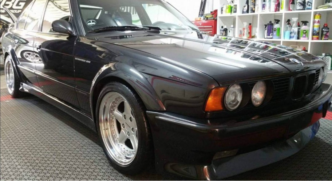 dirtyoldcars.com 1991 BMW S5 3.7   AC Schnitzer Silhouette Found in Los Angeles 9