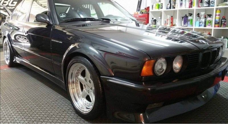 dirtyoldcars.com   1991 BMW S5 3.7    AC Schnitzer Silhouette Found in Los Angeles     8