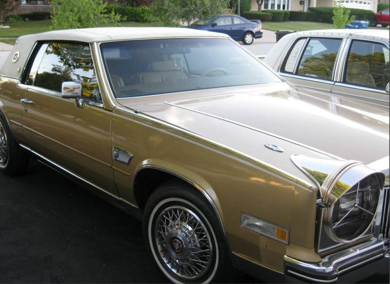 dirtyoldcars.com  1985 Cadillac Eldorado Super Fly Found in Chicago  1