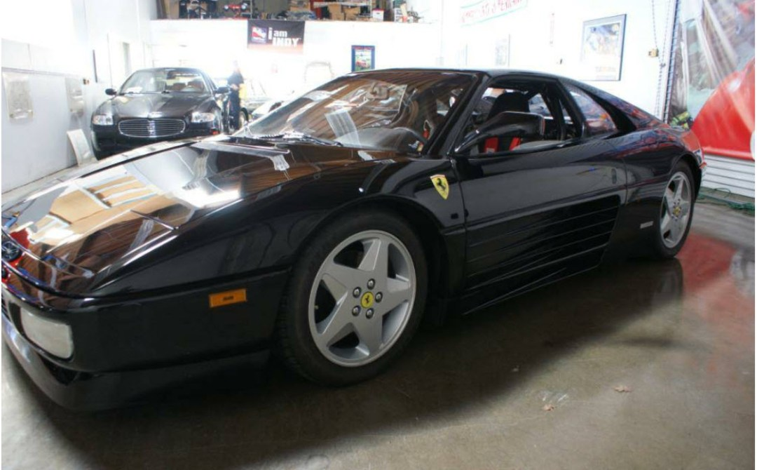 dirtyoldcars.com 1990 Ferrari 348 GTS Challenge Car Found in San Rafael California 7
