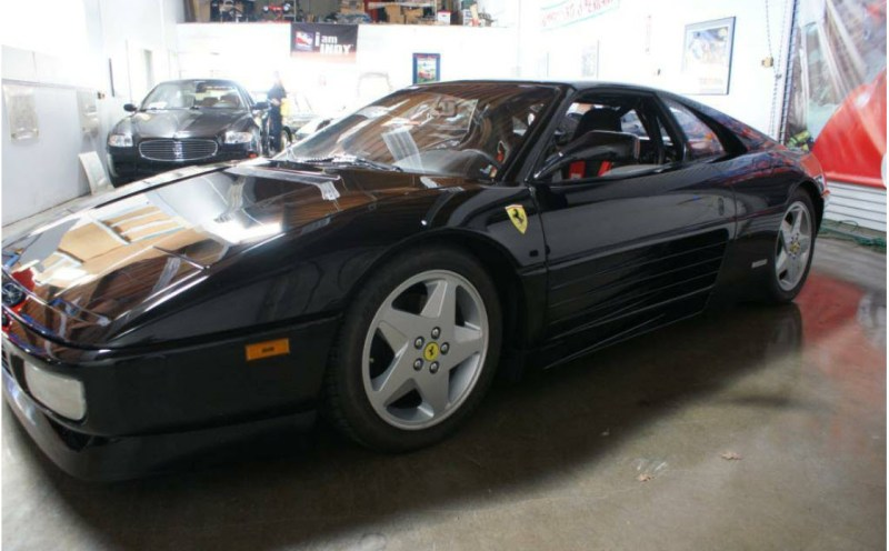 dirtyoldcars.com 1990 Ferrari 348 GTS Challenge Car Found in San Rafael California 6