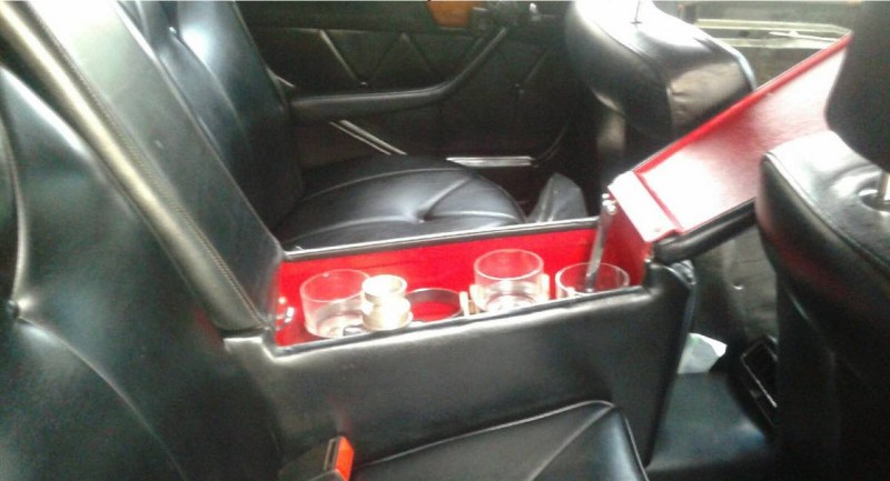 dirtyoldcars.com 1984 Mercedes 500SEL Convertible Caruna Conversion Found in New York 6