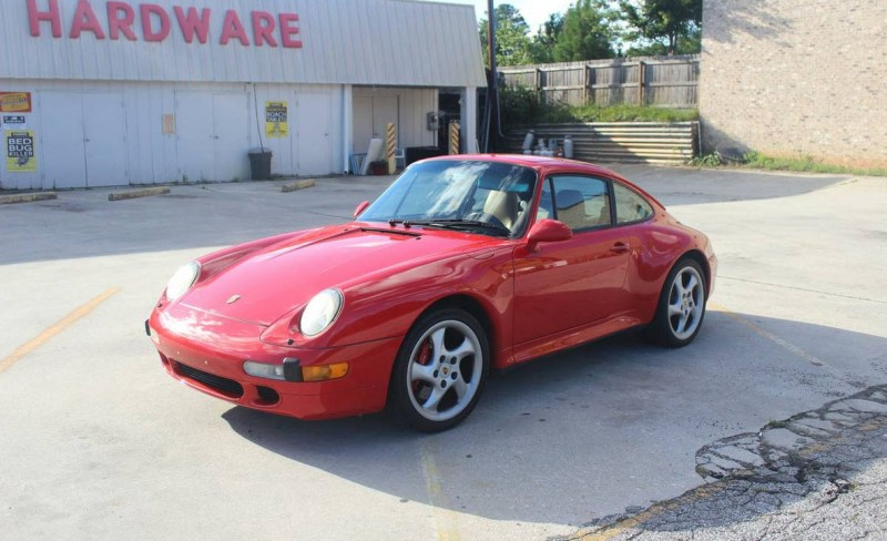 dirtyoldcars.com  1996 Porsche 993 C4S Found in Atlanta Georgia  6