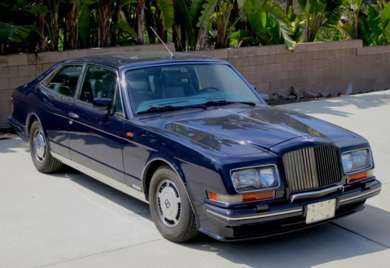 dirtyoldcars.com  1990 Bentley Hooper Empress II Found in San Diego California   6