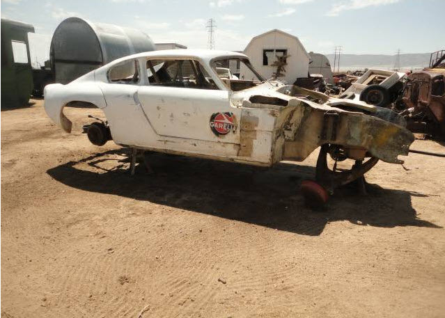 dirtyoldcars.com 1950s English Race Car Found in Antelope Valley 7