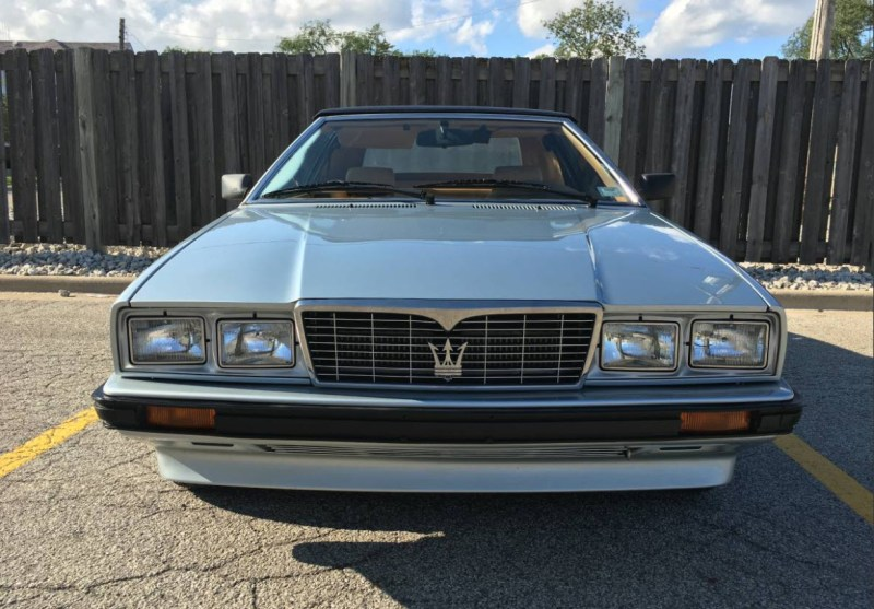 dirtyoldcars.com   1987 Maserati Spyder Biturbo Found in Chicago    4