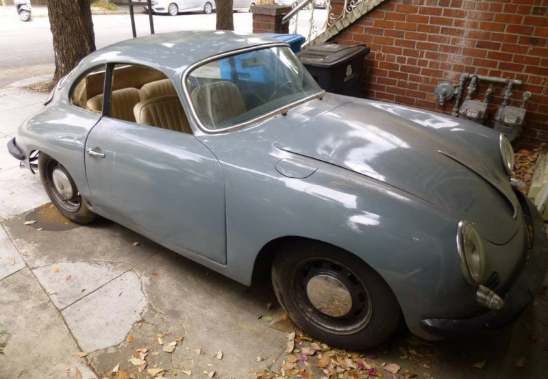 dirtyoldcars.com   1965 Porsche 356C Coupe Project Found in San Francisco    6