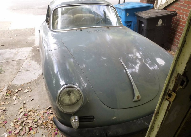 dirtyoldcars.com   1965 Porsche 356C Coupe Project Found in San Francisco    1
