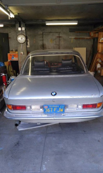 dirtyoldcars.com 1967 BMW 2000 CS Alpine Edition 10