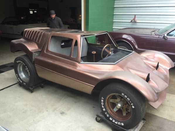 dirtyoldcars.com 1968 Dick Dean Shalako Dune Buggy 6
