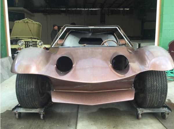 dirtyoldcars.com   1968 Dick Dean Shalako Dune Buggy    4