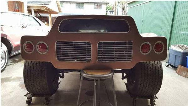 dirtyoldcars.com   1968 Dick Dean Shalako Dune Buggy    2