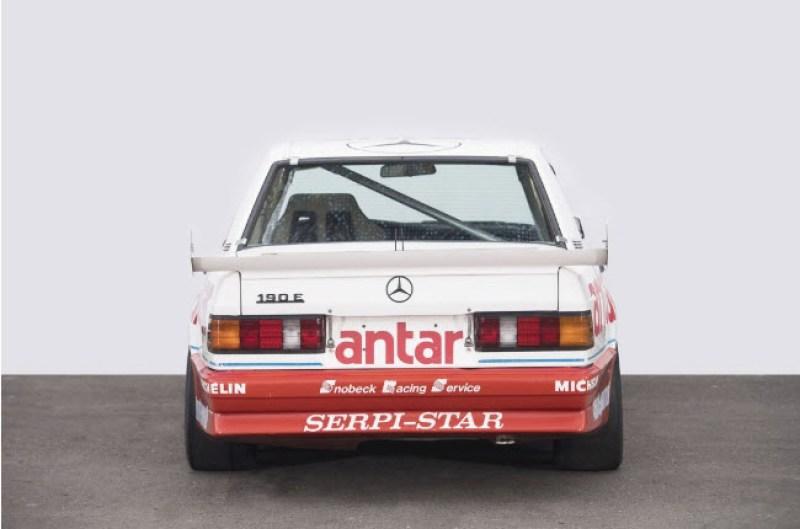 dirtyoldcars.com  1985 Mercedes 190E  Ex-Team Snobeck    5