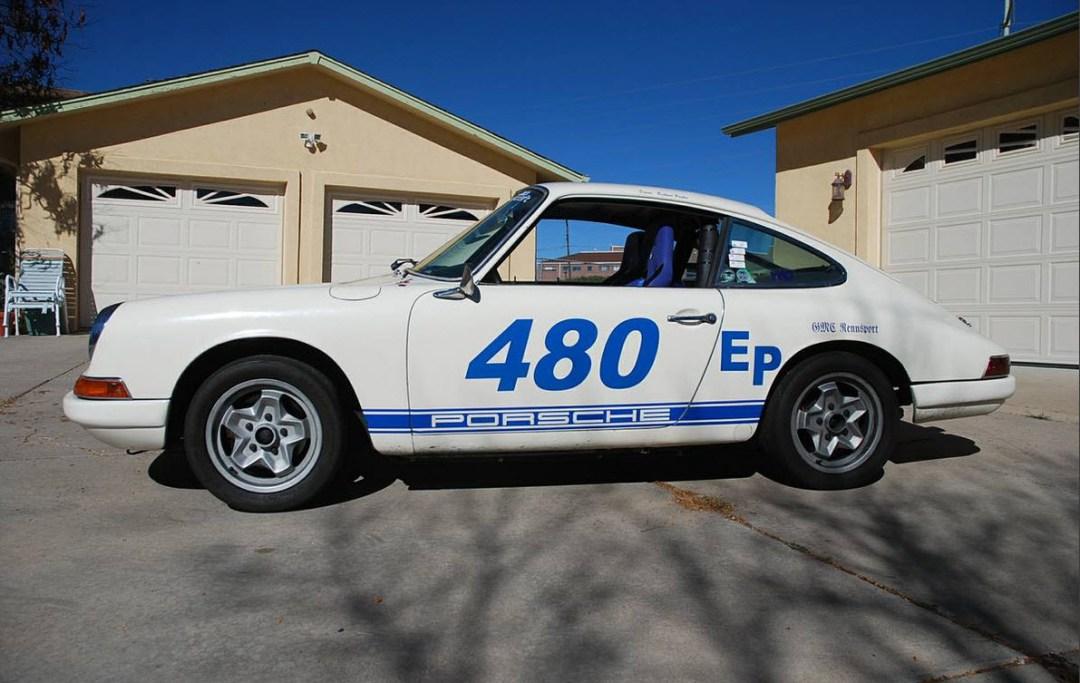 dirtyoldcars.com 1966 Porsche 912 Vintage Race Car 10