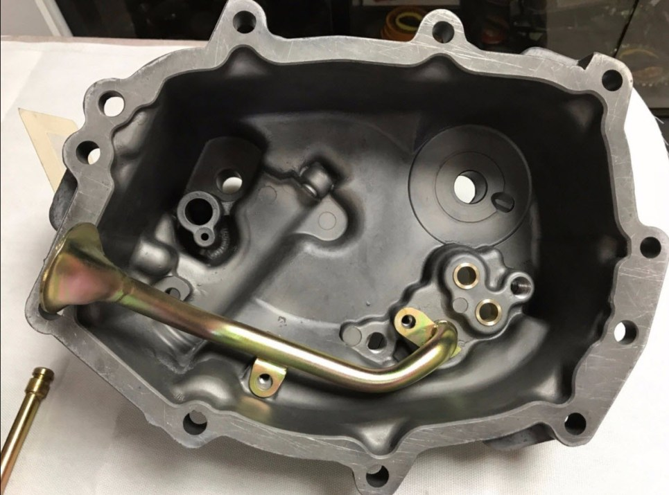 dirtyoldcars.com Porsche RSR 915 Transaxle Oil Pump Complete Found in Colorado 5