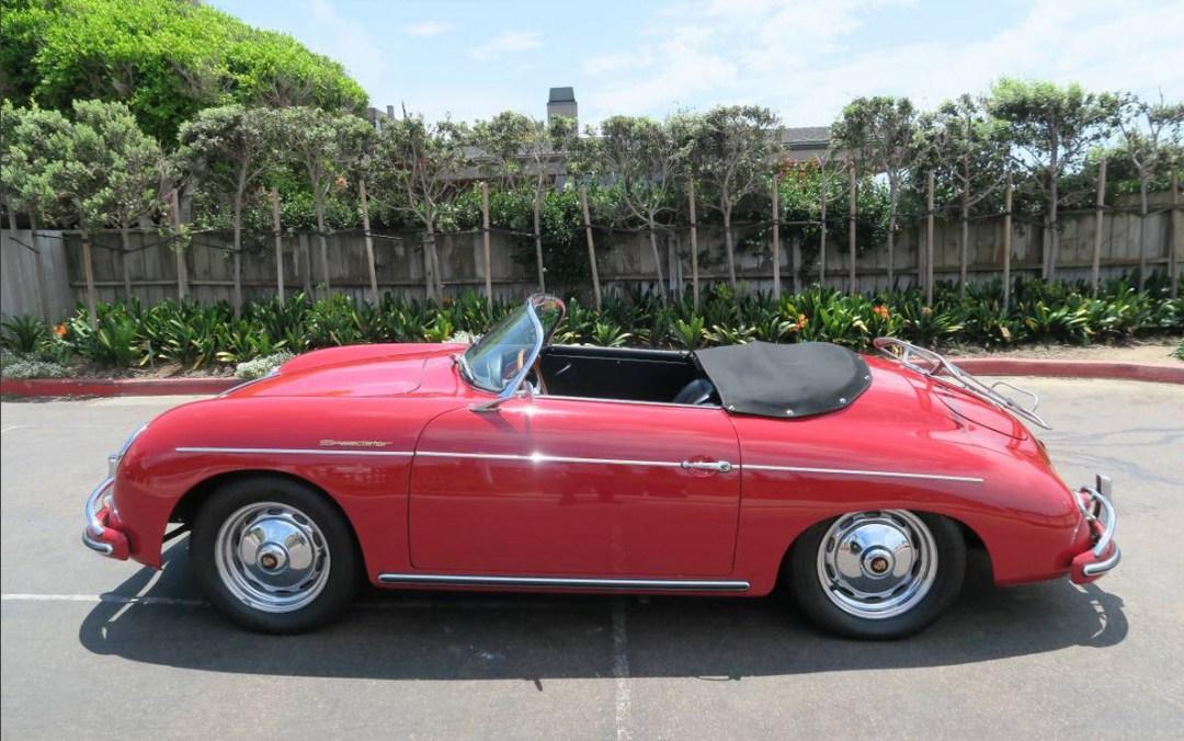 dirtyoldcars.com 1958 Porsche 356A 1600 Super Speedster Found in San Diego 9