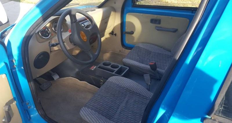 dirtyoldcars.com  Zap Xebra Electric City Car Found in Sacramento California  1