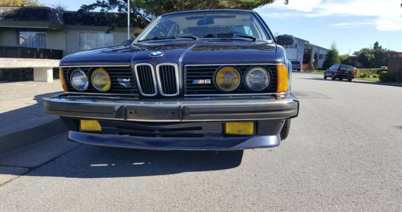 dirtyoldcars.com   1987 BMW M6 E24 Found in San Mateo  California   Blue   14