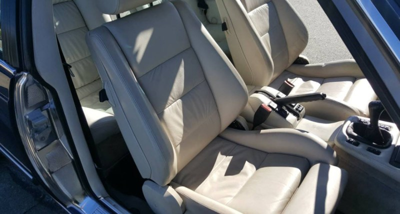 dirtyoldcars.com   1987 BMW M6 E24 Found in San Mateo  California   Blue   5
