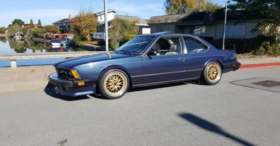 dirtyoldcars.com 1987 BMW M6 E24 Found in San Mateo California Blue 15