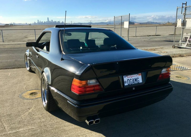 dirtyoldcars.com AMG Hammer Build Found in Hayward California 1994 E320 Coupe 11