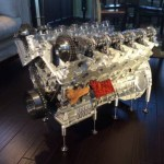 dirtyoldcars.com Mercedes Benz R137 V12 Coffee Table Found in Aurora Colorado 6