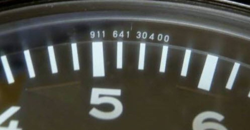 dirtyoldcars.com  Porsche 911 RS RSR 2.8L 10k Tachometer Found in Japan   1