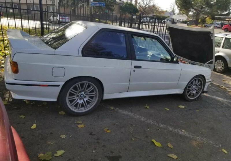 dirtyoldcars.com   1990 BMW E30 M3 2.5L      salvage    2