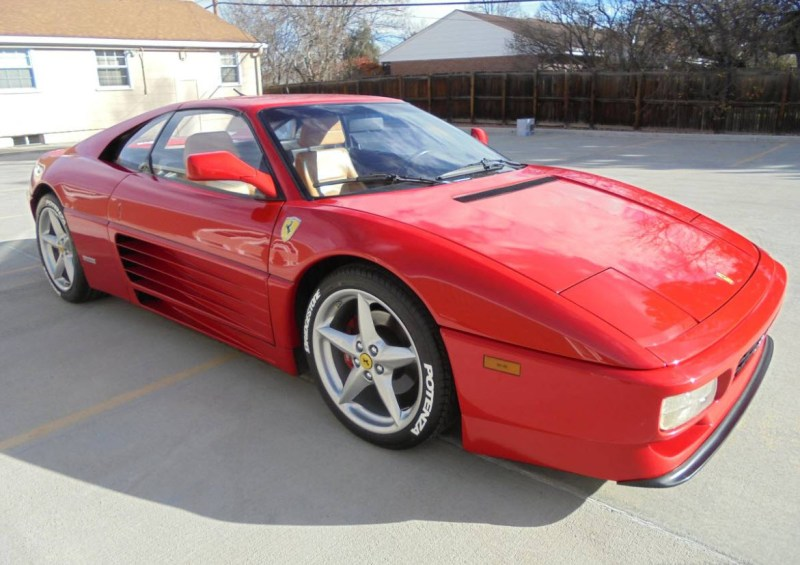 dirtyoldcars.com   1990 Ferrari 348TS Found in Denver    6