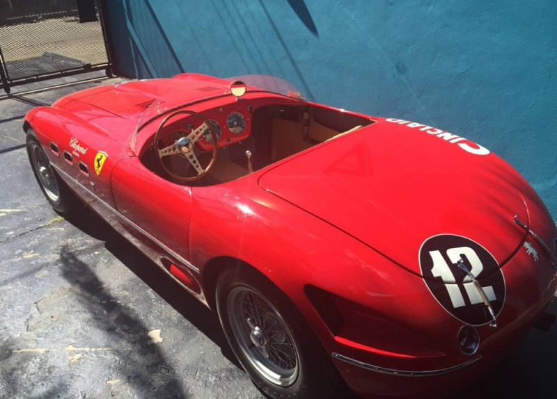 dirtyoldcars.com   1960 Ferrari 250MM Tribute Found in the UK   2