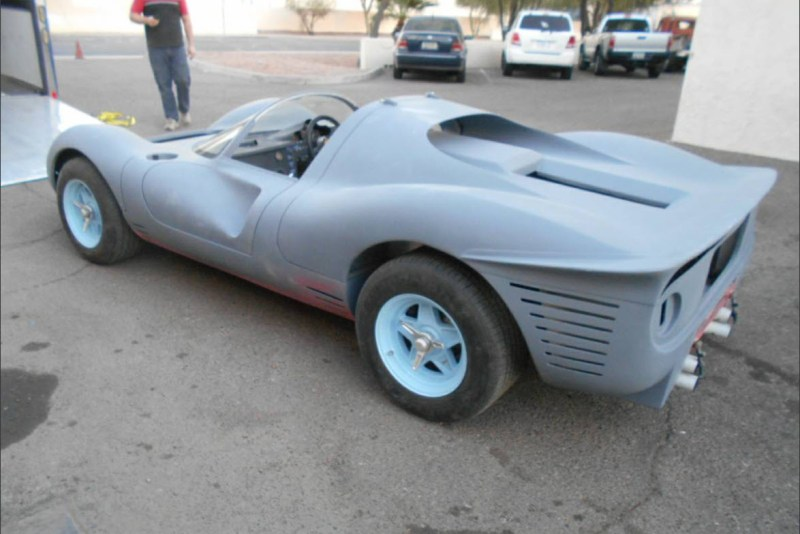 dirtyoldcars.com   1967 Ferrari 330 P4 Recreation Found in Arizona  6