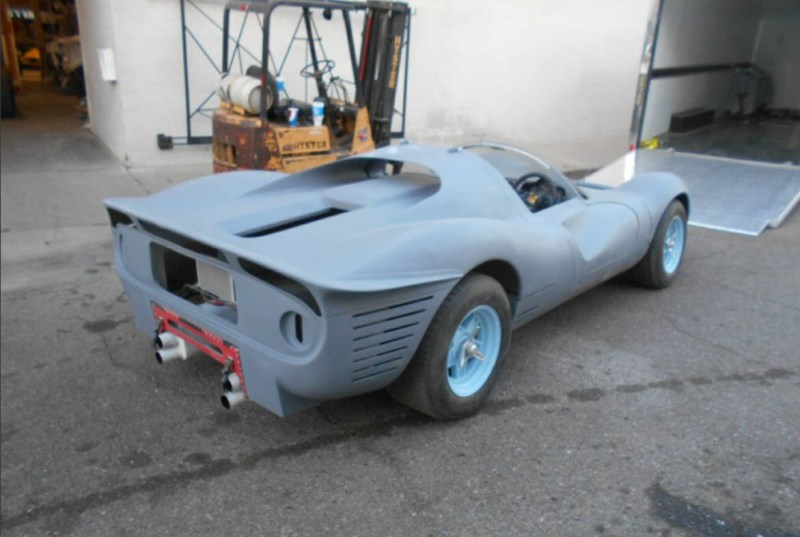 dirtyoldcars.com   1967 Ferrari 330 P4 Recreation Found in Arizona  5