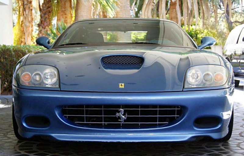dirtyoldcars.com  2005 Ferrari 575 Superamerica  Found in Las Vegas    5