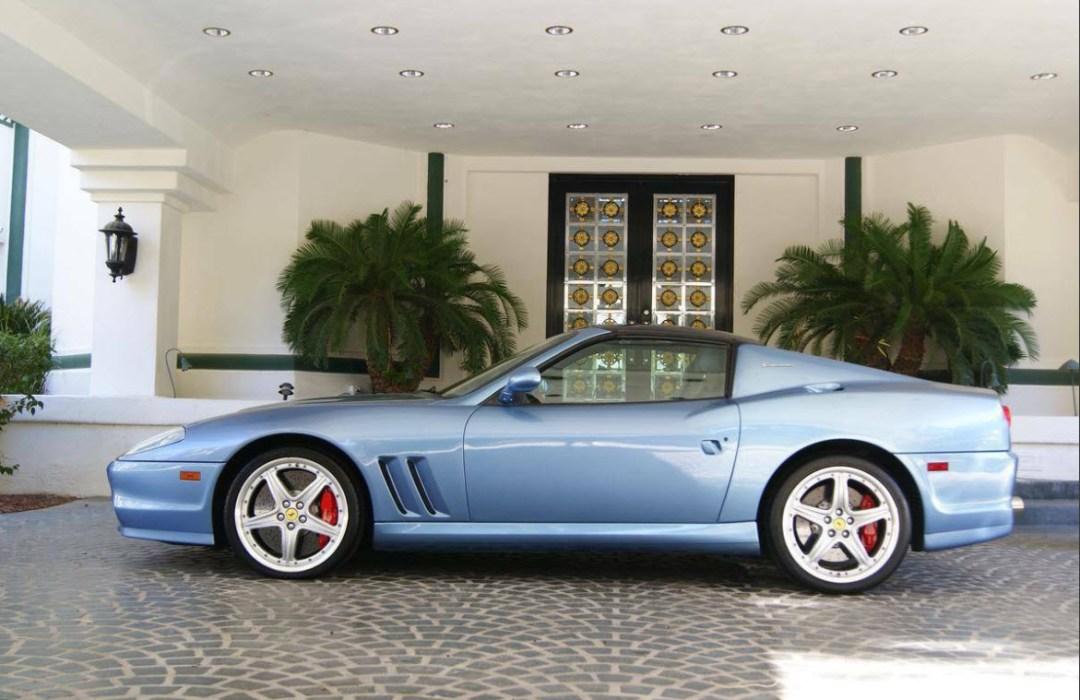 dirtyoldcars.com 2005 Ferrari 575 Superamerica Found in Las Vegas 7