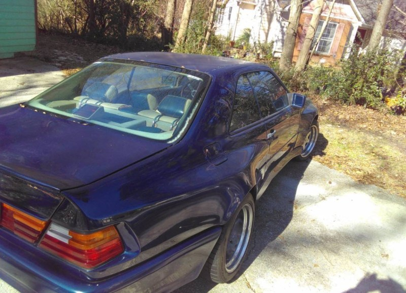 dirtyoldcars.com   1989 Mercedes 300CE Koenig Special found in Atlanta          6