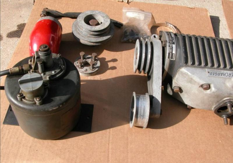 dirtyoldcars.com Judson Super For 190SL Found in Santa Cruz 7