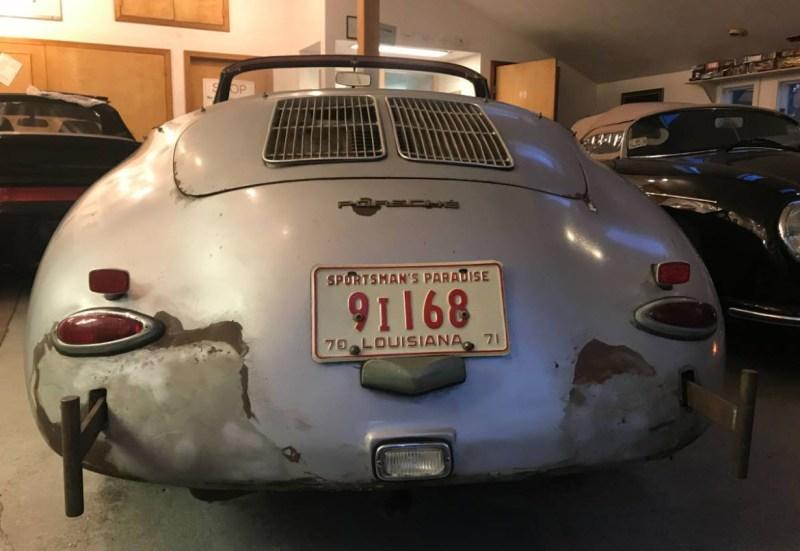 dirtyoldcars.com  1964 Porsche 356 Cabriolet Found in Shrewsbury  Boston  7