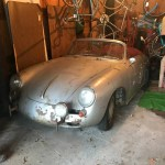 dirtyoldcars.com 1964 Porsche 356 Cabriolet Found in Shrewsbury Boston 8