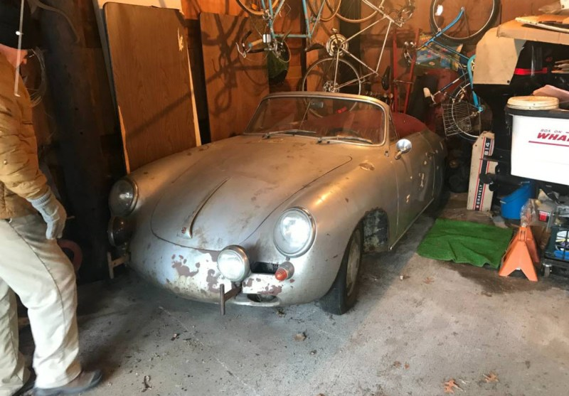 dirtyoldcars.com  1964 Porsche 356 Cabriolet Found in Shrewsbury  Boston  6