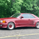 dirtyoldcars.com 1986 Mercedes 560SEC Koenig Special Found in Illinois 11