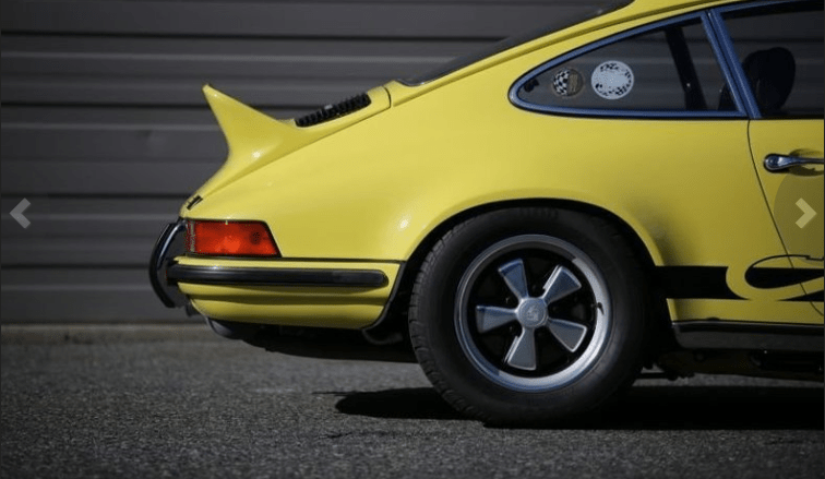 dirtyoldcars.coms 1973 Porsche 911 Carrera RS M472 Touring Found in Florida 4