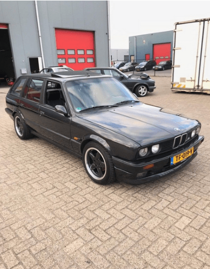 1990 Bmw E30 S3 2 7l Original Ac Schnitzer Touring Wagon Dirty Old