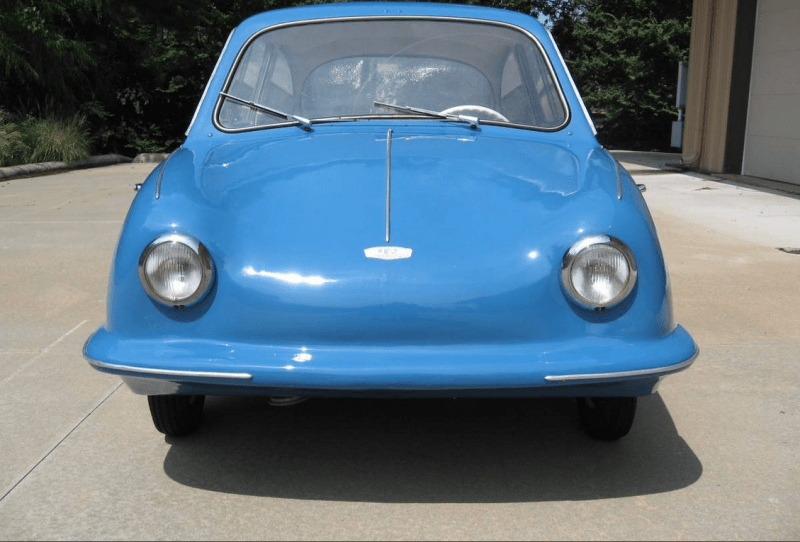 dirtyoldcars.com  1957 Fuldamobil S-7 Micro Sachs 198 Car Found in Little Rock   8