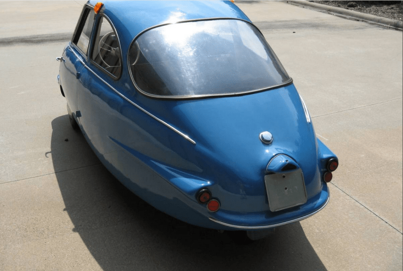dirtyoldcars.com  1957 Fuldamobil S-7 Micro Sachs 198 Car Found in Little Rock   7