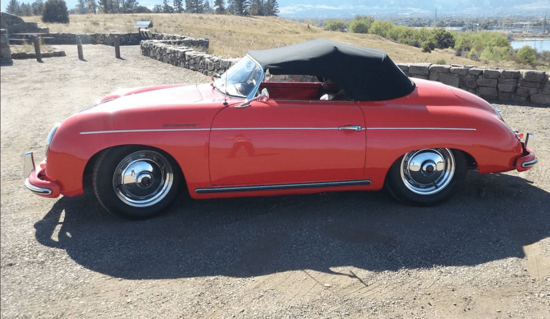dirtyoldcars.com 1955 Porsche Speedster 1600 Super Found in Boulder 6