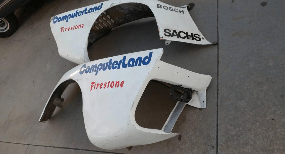 dirtyoldcars.com Porsche K3 Rear Over Fender Wall Art 6