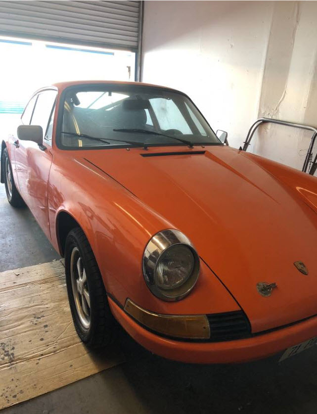 dirtyoldcars.com  1971 Porsche 911T Found in Fremont  San Francisco  Race Car  2