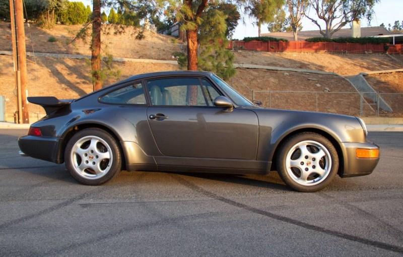 dirtyoldcars.com 1991 Porsche 964 Turbo Found in Tarzana 911 Turbo Slate Grey California 4